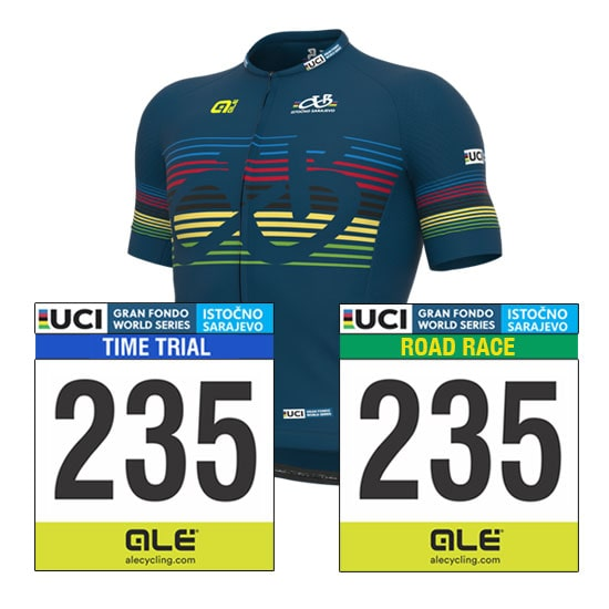 All Events + Official Jersey Package Gran Fondo World Series Istočno Sarajevo 2021
